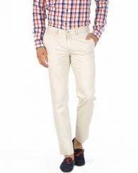 Ecru Stripes Trousers