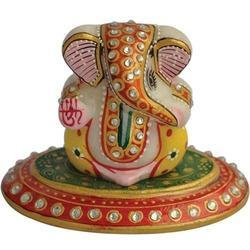 3 Inch Marble Ganesha
