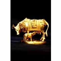 Brass Cow Statue At Rs 100000 Piece S Brass Statue The