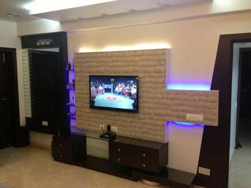 tv unit design - Living Room Tv Wall Units India