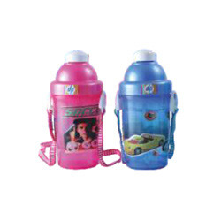 Sleek Small Plastic School Kids Water Bottle