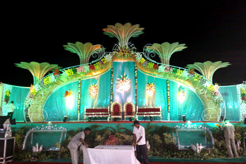 iron stage lotus designer stage manufacturer from jaipur