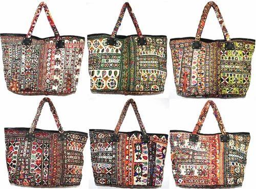 Vintage Patchwork Handbags