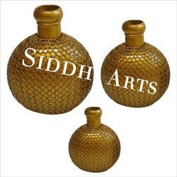 Metal Decorative Vases