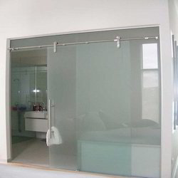 Transparent Ozone Frameless Sliding Glass Door Thickness 12mm Rs 650 Square Feet Id 7700523612