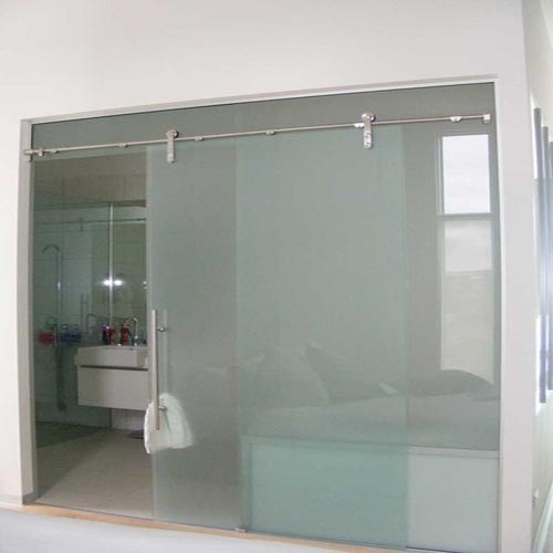 Transparent Frameless Sliding Glass Door Global Glass Technologies