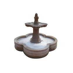 Carved Sandstone Fountain