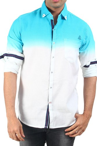 blue casual shirt with shading at rs 1495 piece goregaon east