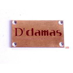 Engraved Brass Plates