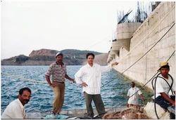 Underwater Dam Repairs