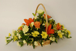 Pyramidal Flower Baskets