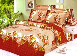 Micro Double Bed Sheet with 2 Pillow Cover Set
