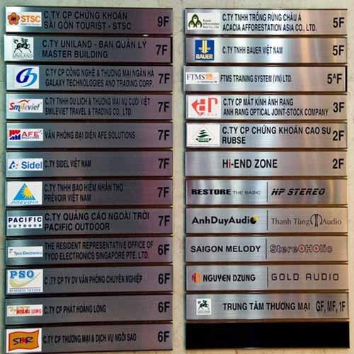 Custom building directory signs at rs 550 square feet for Building directory template