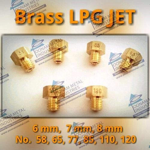 Stove Lpg And Cooker Parts Brass Lpg Jet Manufacturer