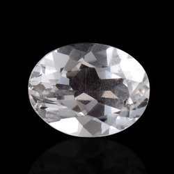 Faceted Crystal Quartz Loose Gemstone