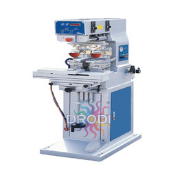 Two Color Pad Printing Machine with Shuttle system