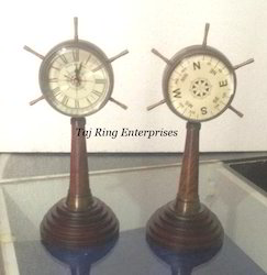 Antique Tower Table Clock