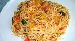 Garlic Chicken Soft Noodles