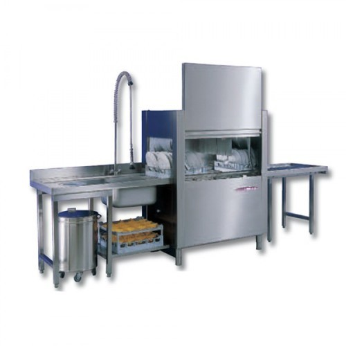 Dishwash Machine Zanussi By Electrolux Rack Conveyor
