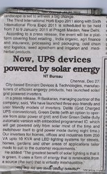 Solar Energy, News Today