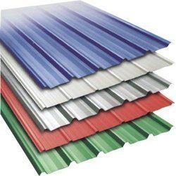Color Coated Steel Roofing Sheet - Plaso India, Kolkata | ID: 4709772648