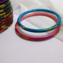 Hand Painted Metal Bangles