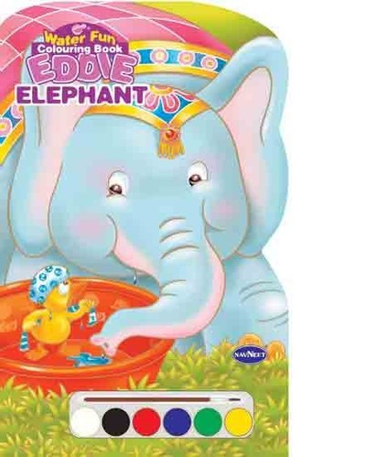 Eddie Elephant Colouring Book