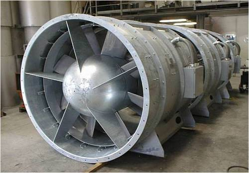 Axial Fans For Tunnels : High pressure axial flow fans tunnel ventilation