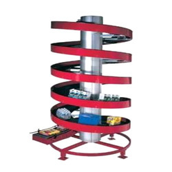 Spiral Flexible Modular Chain Conveyor
