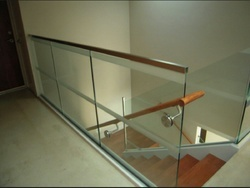 Balcony Stainless Steel Glass Railing