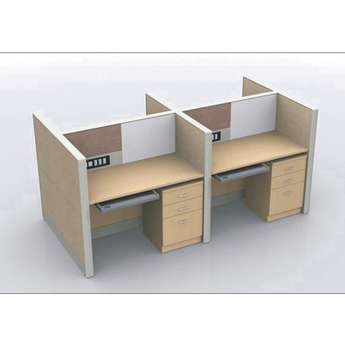 Office Table For 4 Person: 4 Seater Modular Workstation