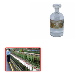 GURUNANAK Concentrated Hydrochloric Acid for Textile Industries, For Laboratory, Grade: Analytical