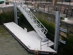 Aluminum Gangway Jetty To Berthing Pontoon