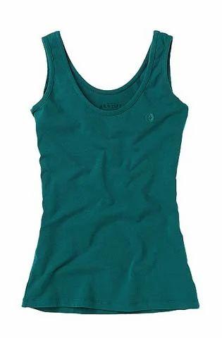 8e04d7cc4eafb Women s T-Shirt - Women s Sleeveless T-Shirt Exporter from Tiruppur