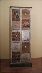 Wooden Recycled Drawer Chest