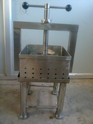 Paneer Machine Hand Operated