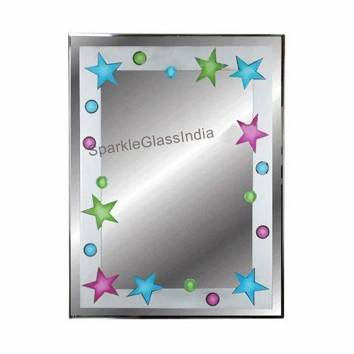 Glass Mirror. Glass Mirror at Rs 1400  mrp set   Kaanch Ke Darpan   Sparkle