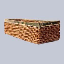 Rectangular Laundry Deep Wicker Basket