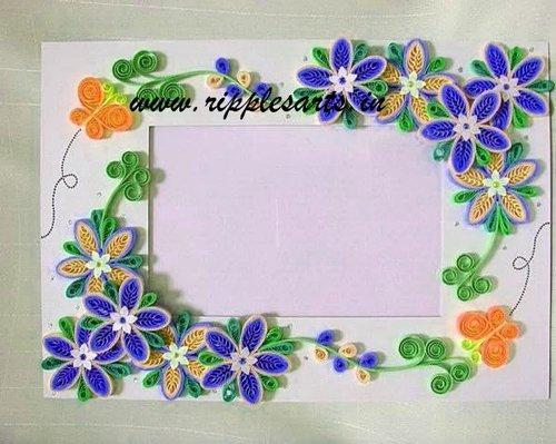 Quilled Frames, Handcrafted Frames | Sector 7, Panchkula | Ripples ...