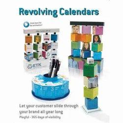 Revolving Cube Calenders