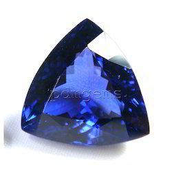 Tanzanite Faceted Trillion Gemstone