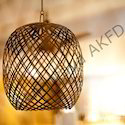 Sultana Strip Ball Ceiling Lamp