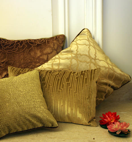Golden Cushion Cover Sofa Cushions And Covers
