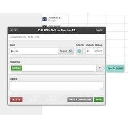 Retail Scheduling Software