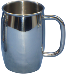 Stainless Steel Plain Beer Mug