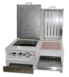 Stainless Steel Automatic Stamp Making Machine, Voltage: 220 V