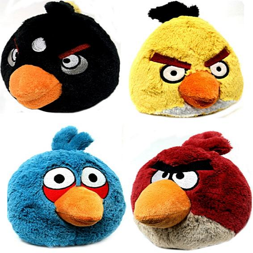 Angry Bird Soft Toys C Star Solutions Wholesaler In Hyderabad