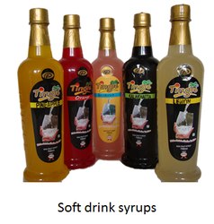 Tingle Soft Drink Syrups