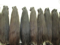 Indian Human Temple Hair