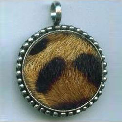 Brown Leather Pendant